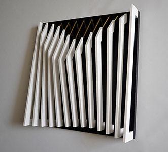 Pierluigi Portale 'Vibrazioni Melodiche' 50 x 50 x 13