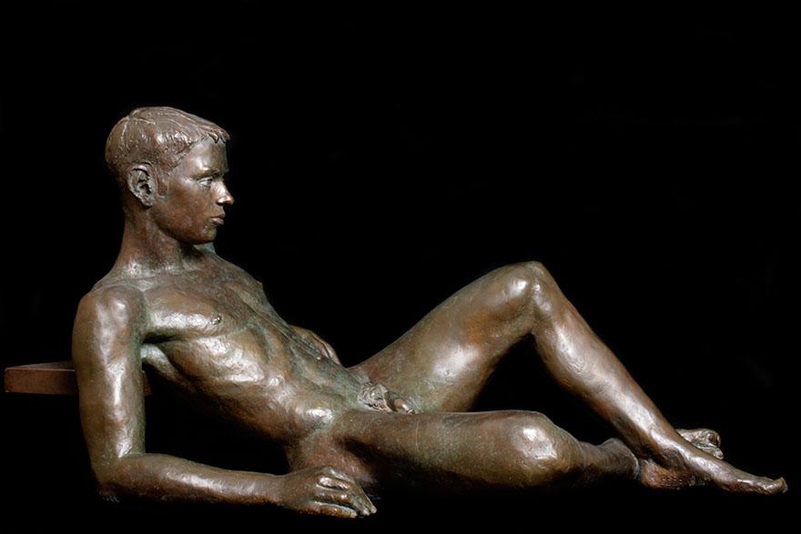 Eduardo 51 x 84 x 50 cm Bronze