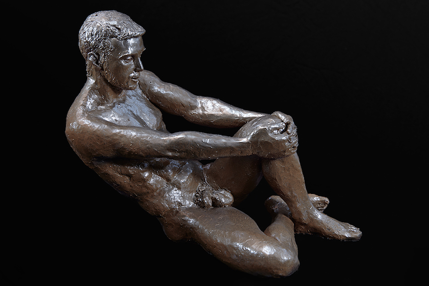 Marçal 28 x 32 x 22 cm Bronze