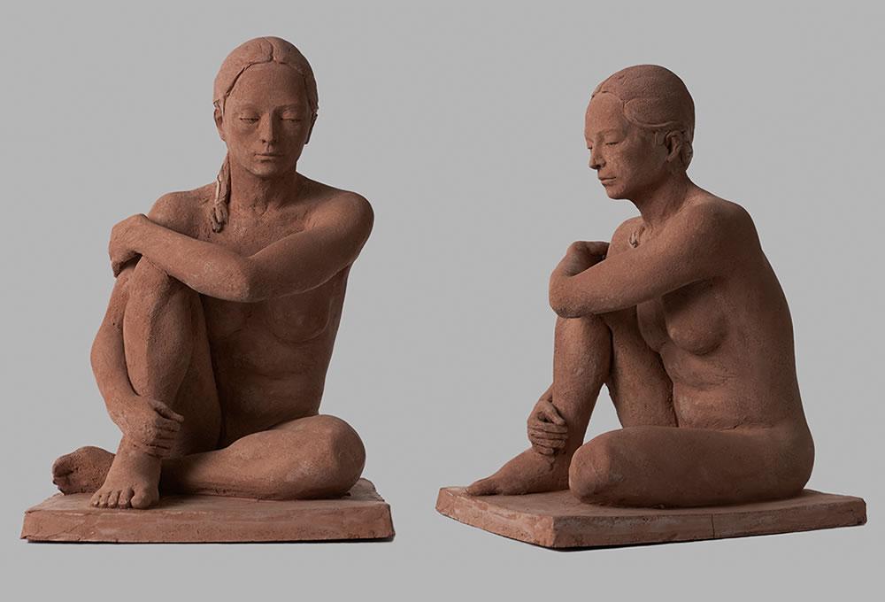Carem (2013) Terracotta. 28x30x45 cm Expuesta en el Museo Europeo de Arte Moderno de Barcelona dentro de la exposición Un segle de escultura catalana (2013)