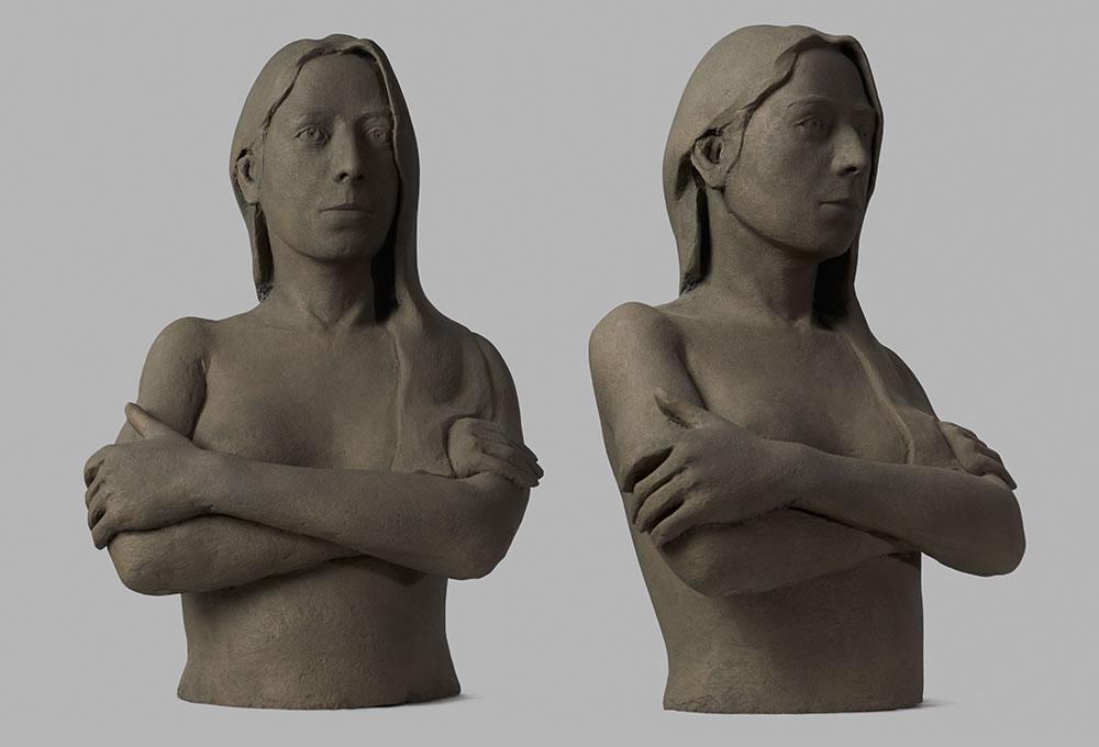 Kika 2012. Terracotta. 40x35x66 cm